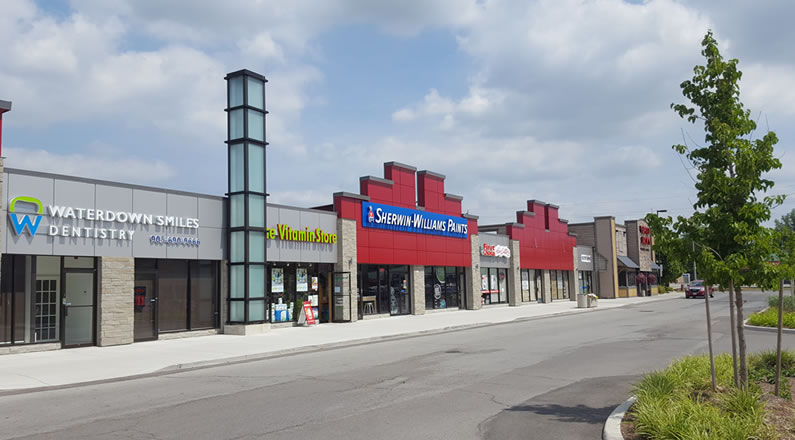 Waterdown Plaza Commercial design by Lima Architects in Waterdown Ontario