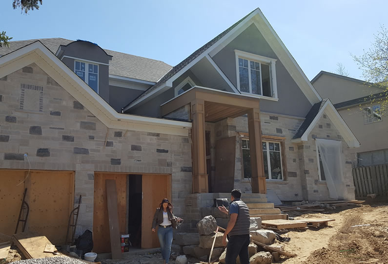 418 cairncroft road oakville on custom house by lima for Custom home architects