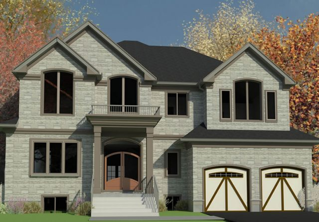 New House in Mississauga Ontario Residential Project by Lima Architects Inc