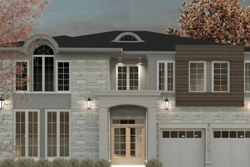 New house Burlington Ontario Lima Architects Inc