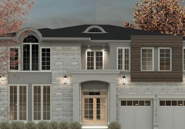 New house Burlington Ontario Lima Architects Inc