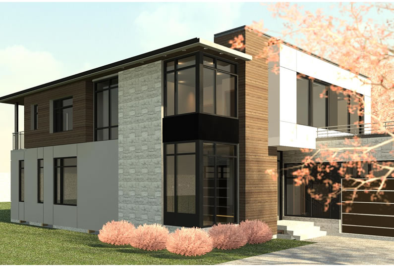 Contemporary house mississauga lima architects inc for Modern homes mississauga