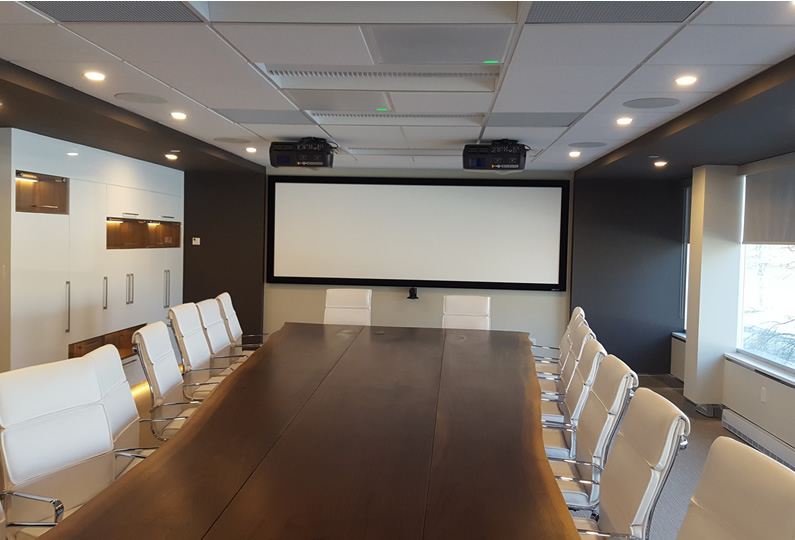 Private Boardroom Design by Lima Architects Inc