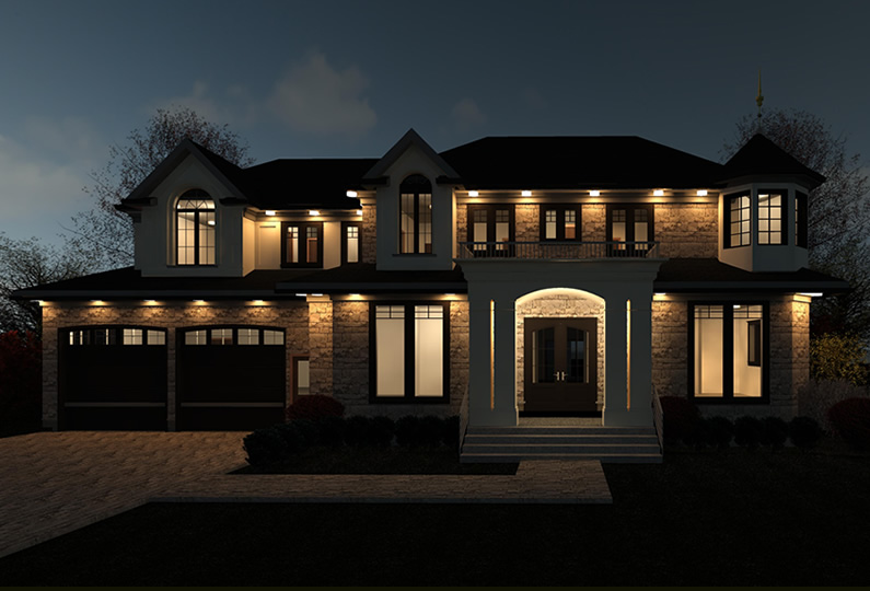 Indian Valley Trail Mississauga New Custom House By Lima
